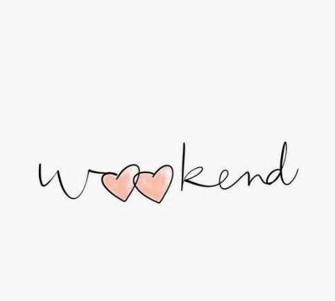 weekend edit