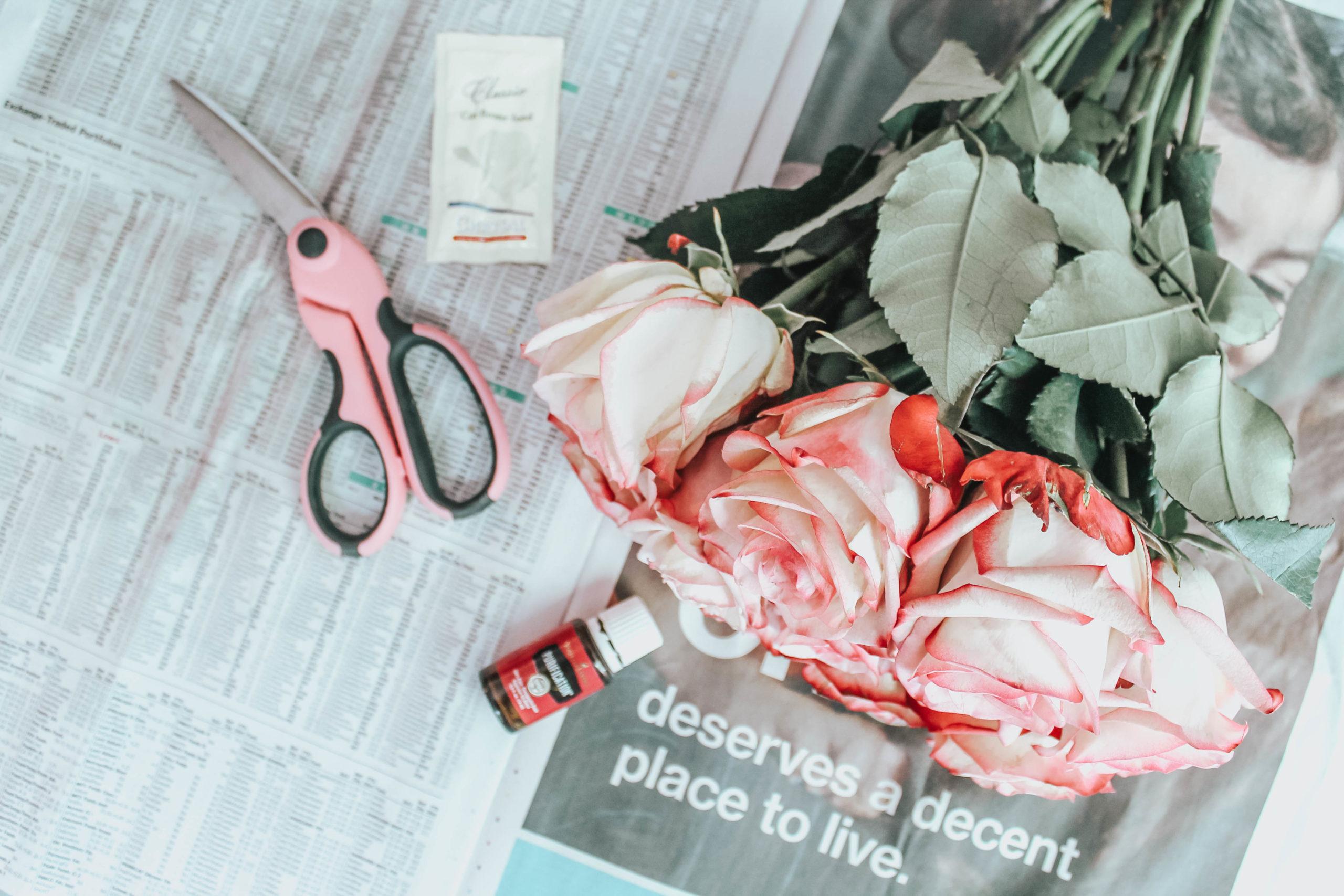 tutorial roses