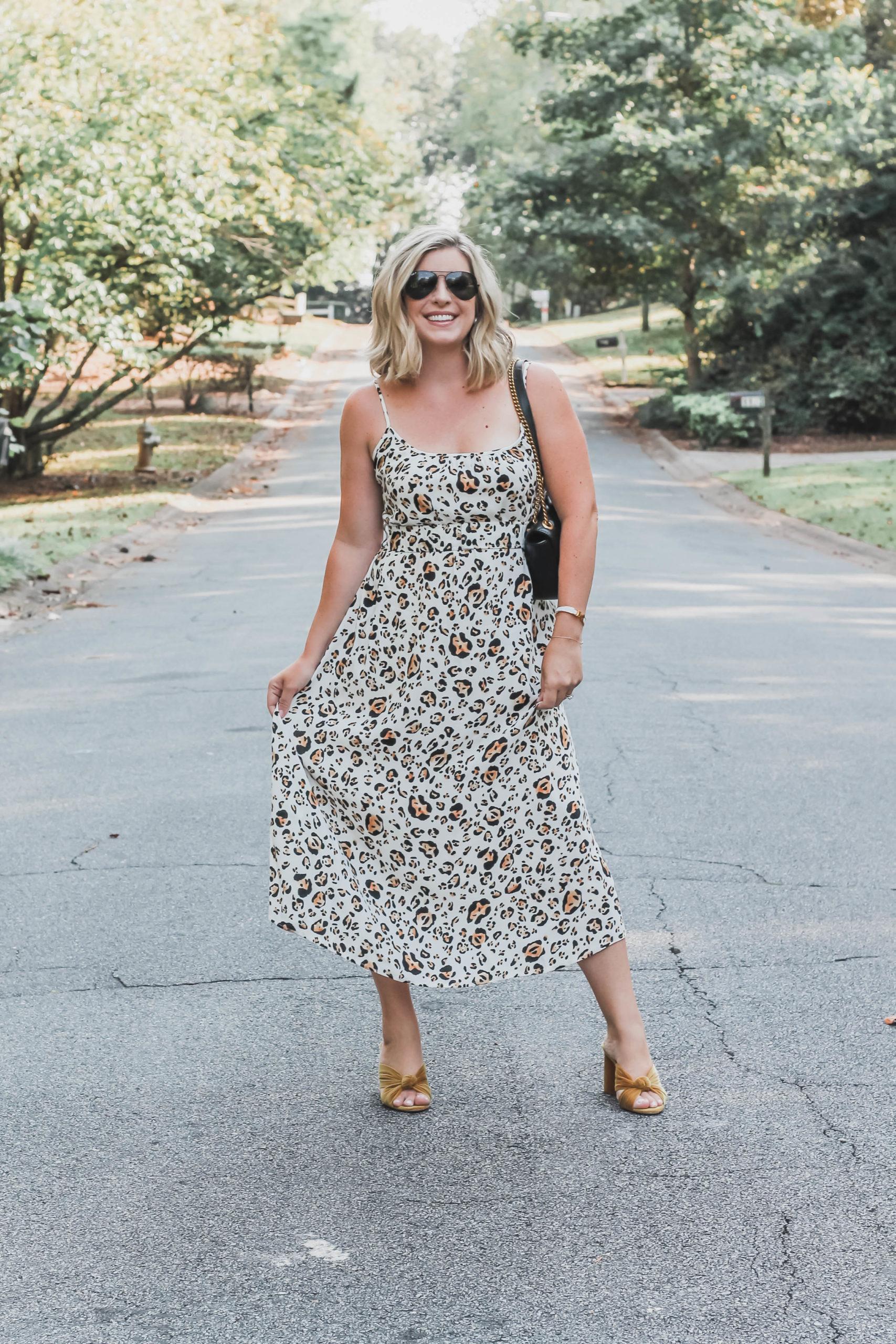 leopard anthro dress