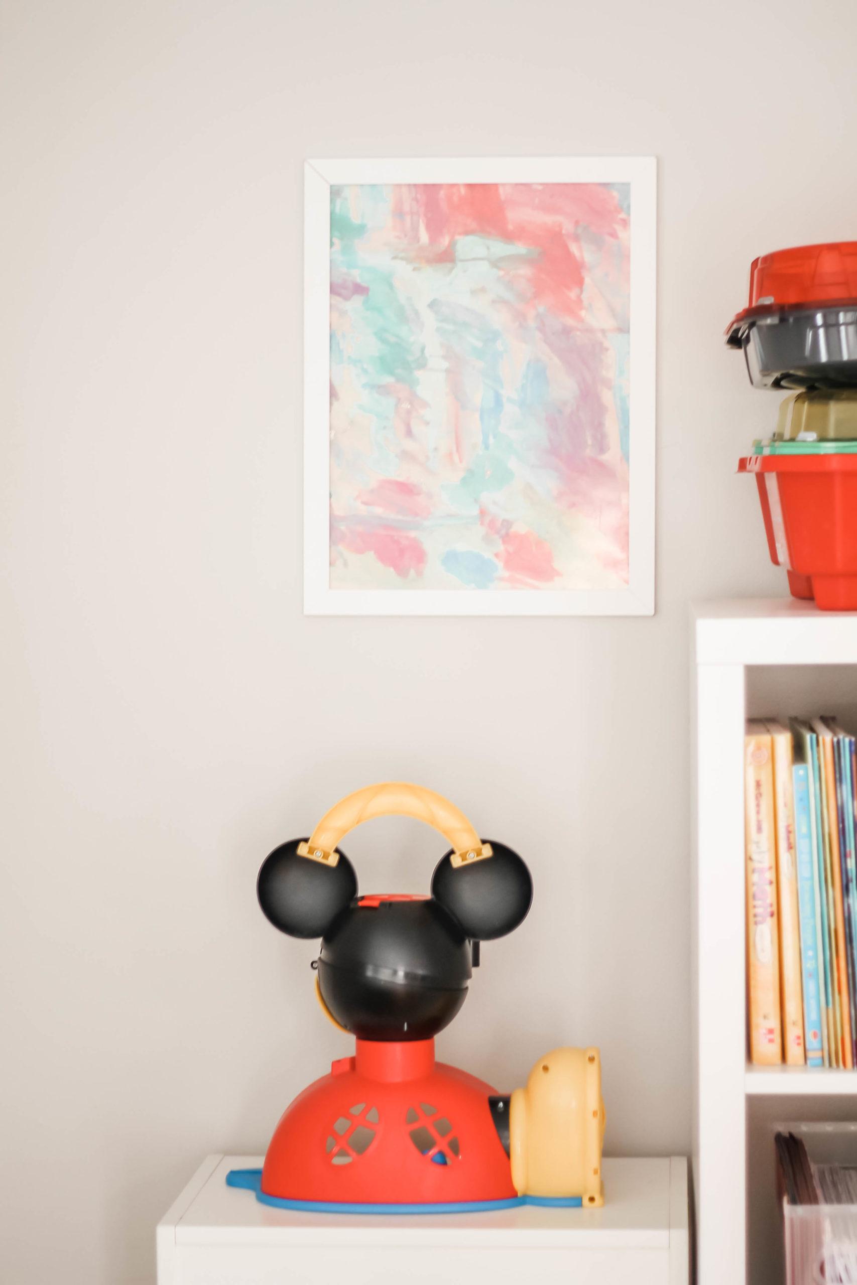 kids art playroom