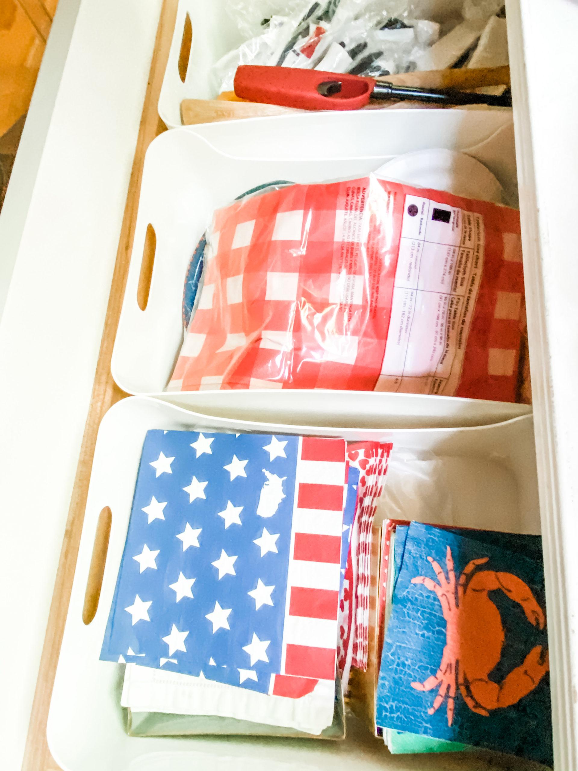 drawer storage